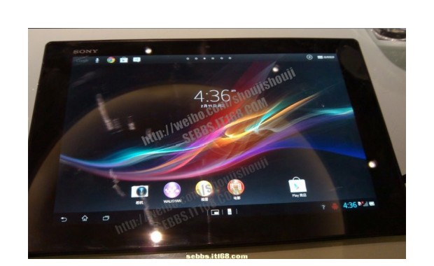 Firmware-ul de Xperia Tablet Z demonstrat pe un Asus Transformer [+VIDEO]