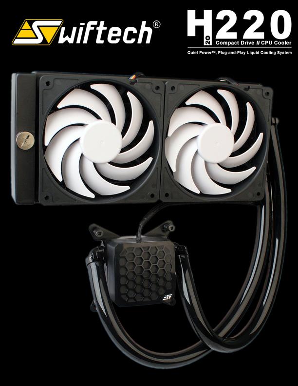 Swiftec H220 – Sistem de racire cu apa pentru consumer