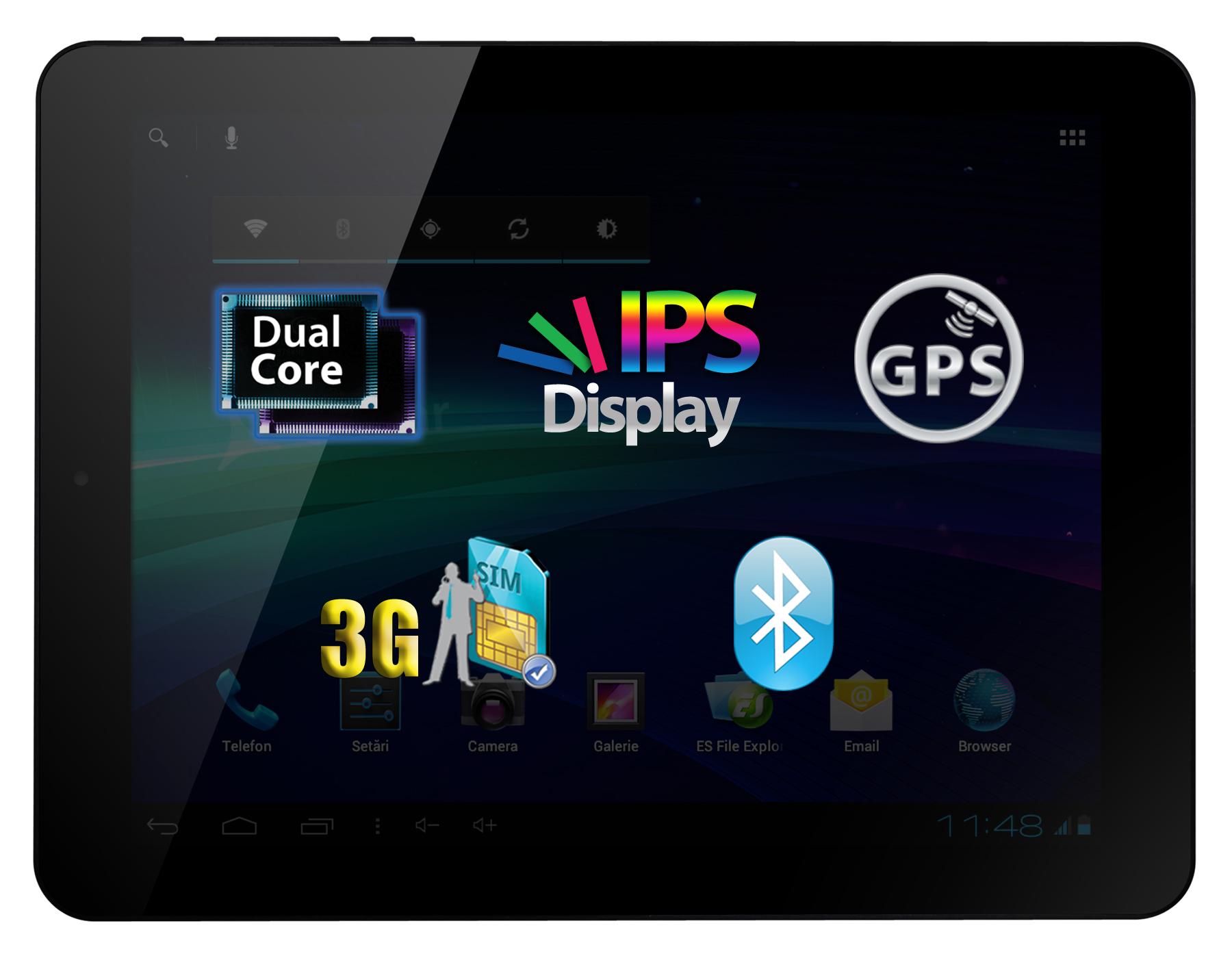 Allview lanseaza TX1 Quasar – Tableta de buget cu 3G incorporat