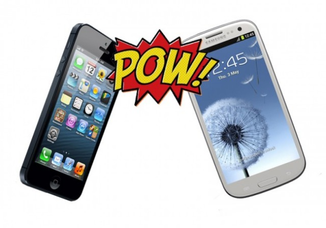 iPhone 5 versus samsung preferinte cumparatori