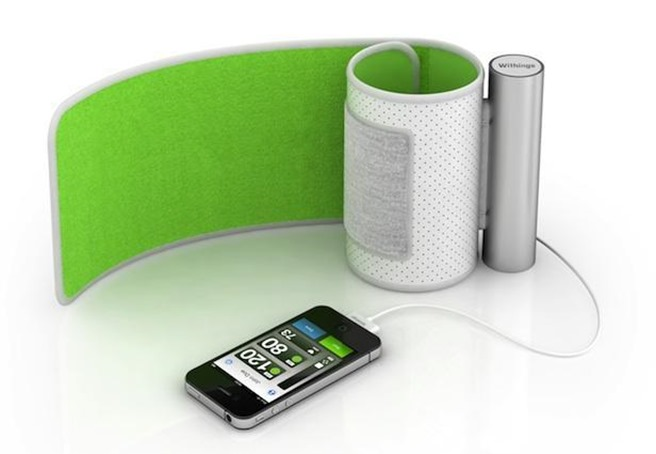iPhone Withings Smart Monitor