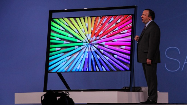 samsung ces 2013 oled tV