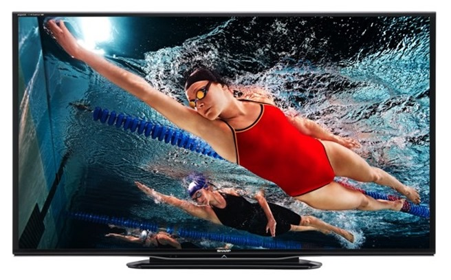 sharp aquos led tvs 2013