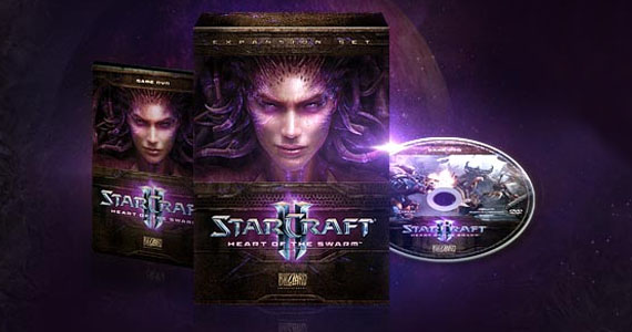 StarCraft II: Heart of the Swarm – Cinematic Intro