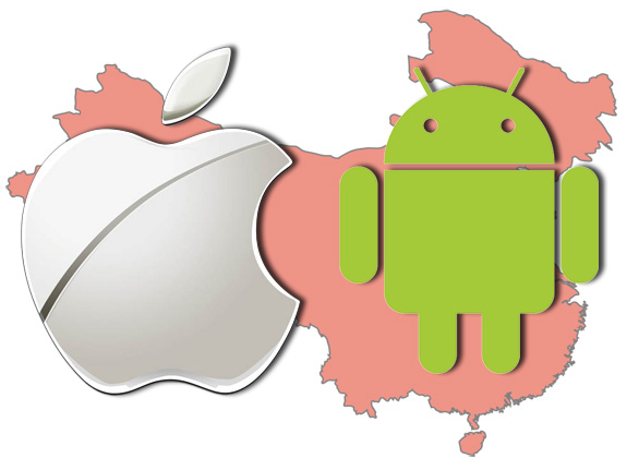 Android iOS in China
