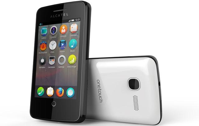 Alcatel One Touch Fire, un smartphone buget cu Firefox OS