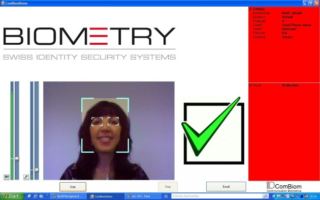 Biometry Recunoastere Faciala