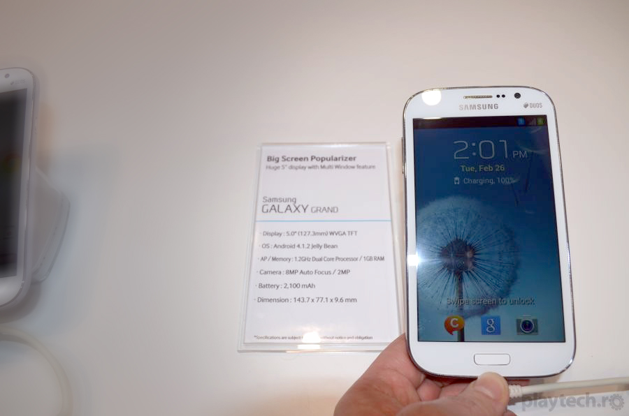 Galaxy Grand – Dual SIM Samsung de 5 inci [Hands On]