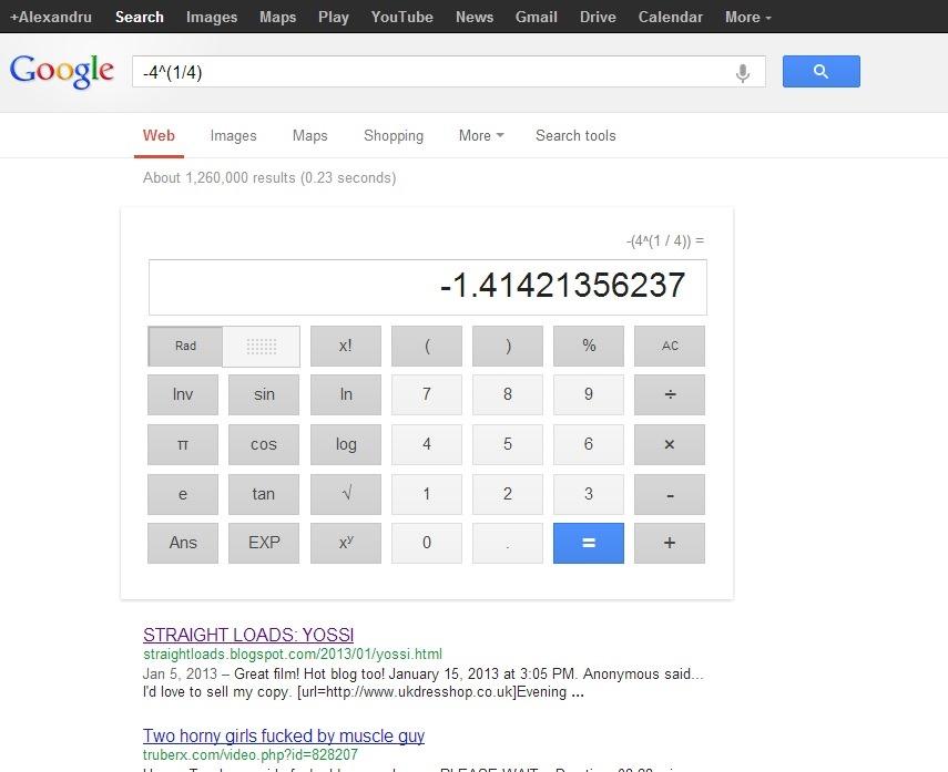O ecuatie simpla genereaza pornografie pe Google
