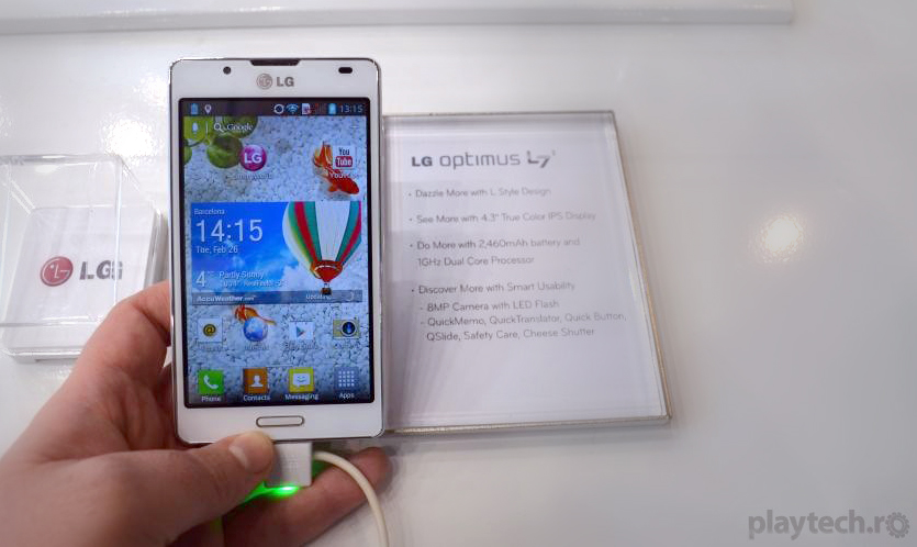 Optimus L7 II – Smartphone LG mid-range de buget [Hands On la MWC 2013]