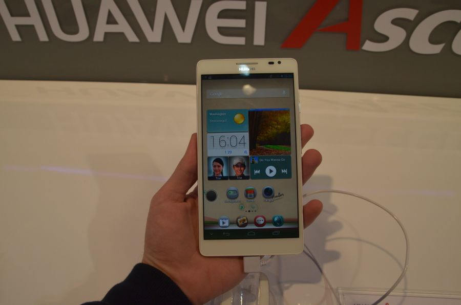 Ascend Mate – Phablet Huawei de 6.1 la MWC 2013 [Hands On]