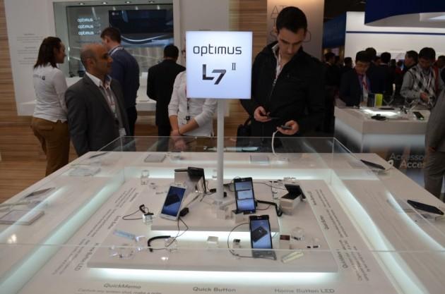 LG Optimus L7 II MWC 2013