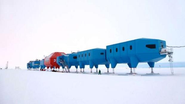 Cel mai nou centru de cercetare din Antarctica aduce aminte de Star Wars