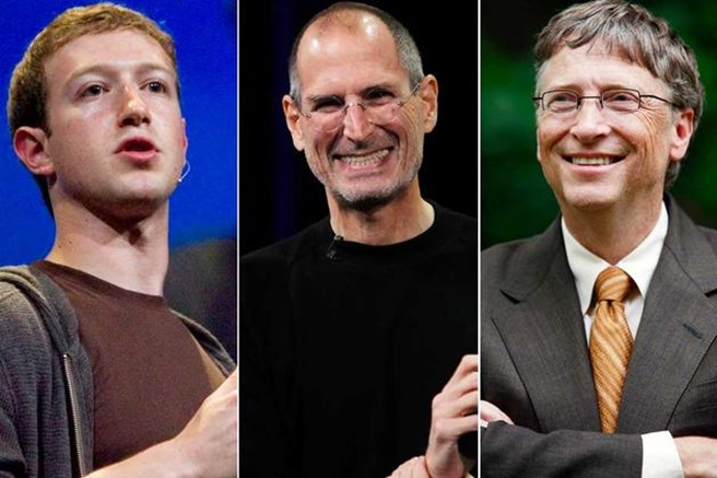 programarea in scoli, Mark Zucherberg, Steve Jobs, Bill Gates