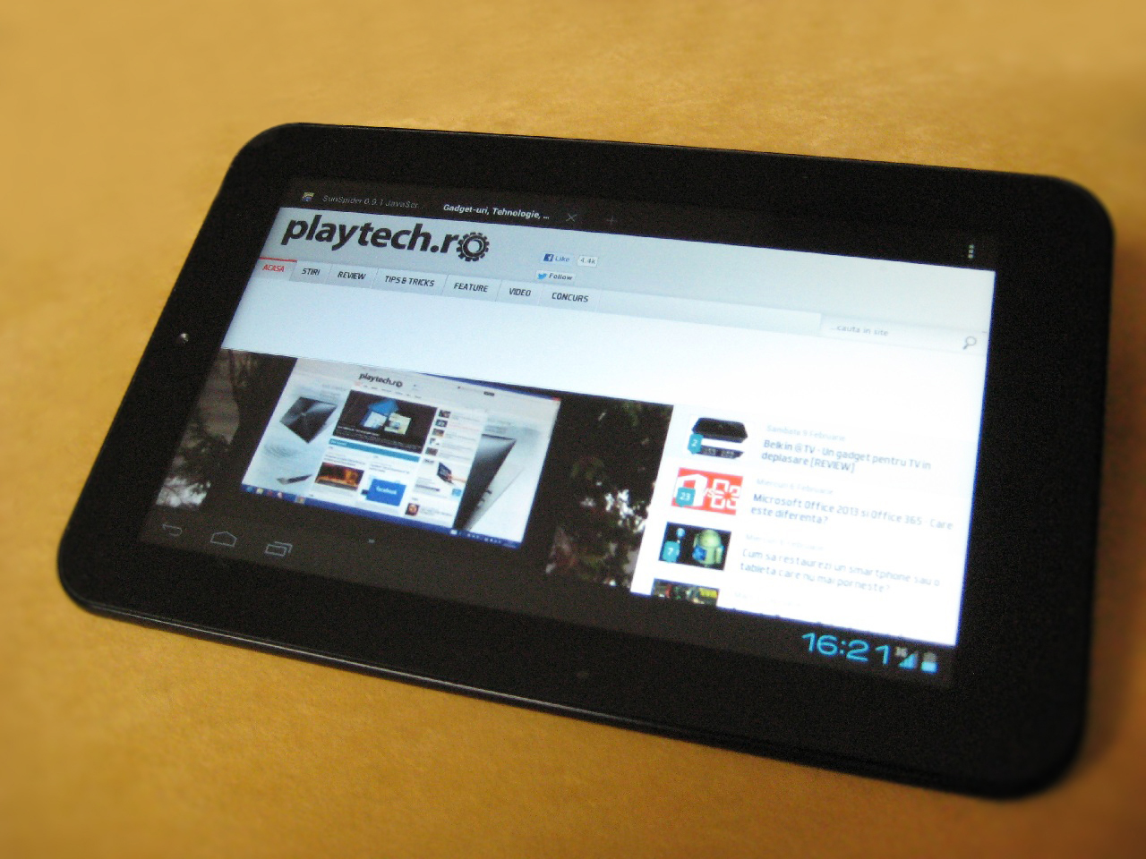 Allview AX1 Shine – Tableta de buget cu 3G integrat [REVIEW]