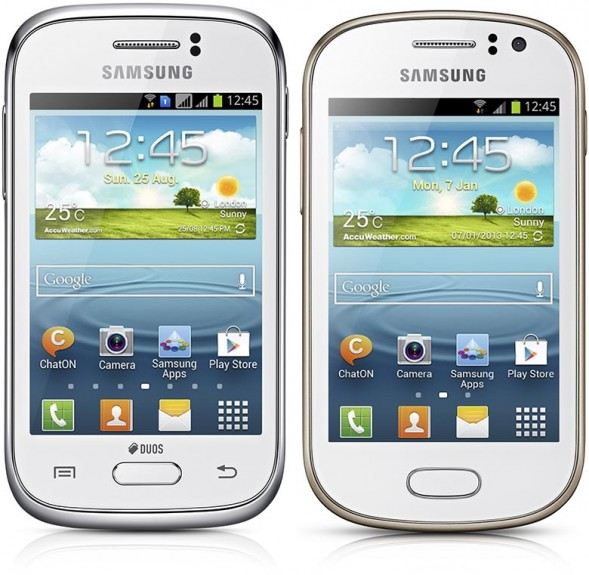 Samsung Galaxy Young si Galaxy Fame