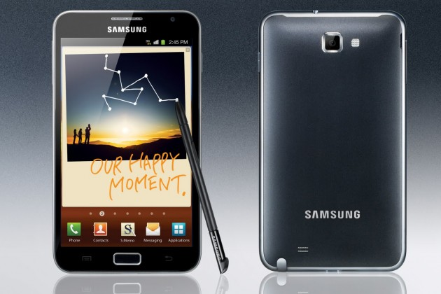 Samsung galaxy note android 4.1.2 Jelly Bean