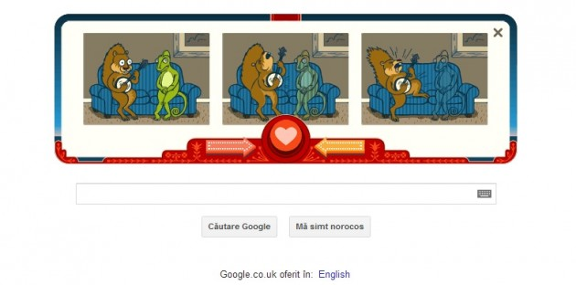 Valentine's Day Google Doodle 2