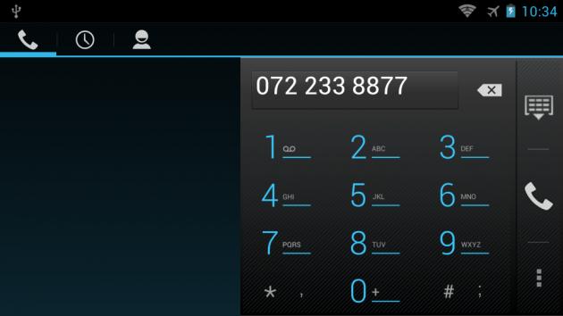 ZTE Grand X In Telefonie si mesaje