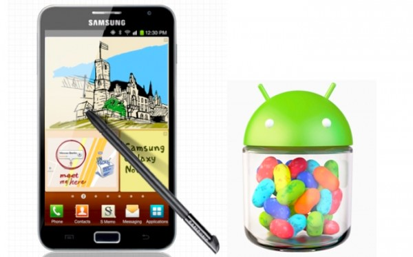 Jelly Bean pe Galaxy Note e mai aproape decat ne asteptam