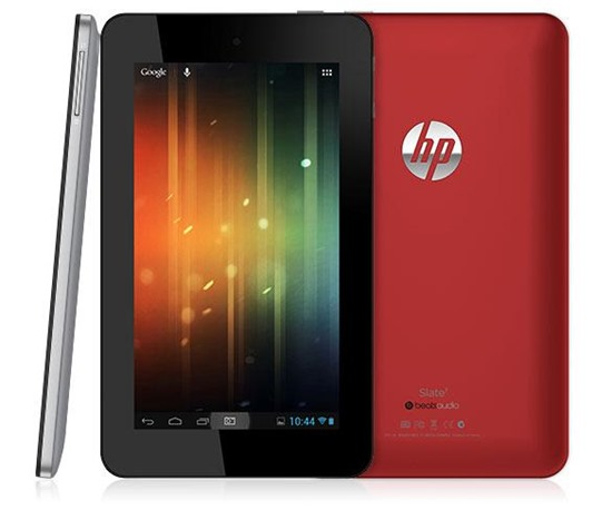 hp slate 7 Android Tablet beats