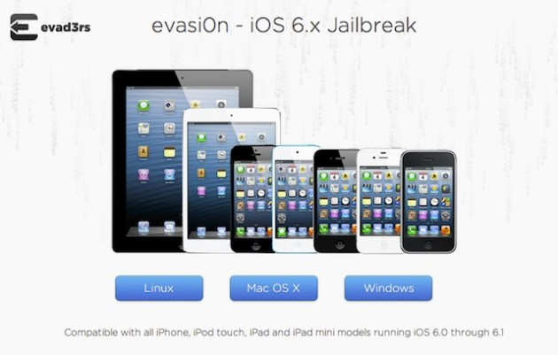 iPhone 5 iOS 6 6.1 jailbreak Evasi0n