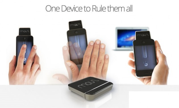 mauz motion visual gesture mouse iphone