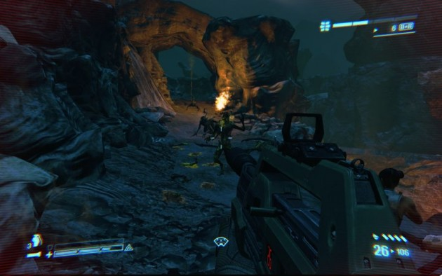 Aliens Colonial Marines Cliffs