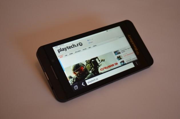 BlackBerry Z10 Navigare WEB