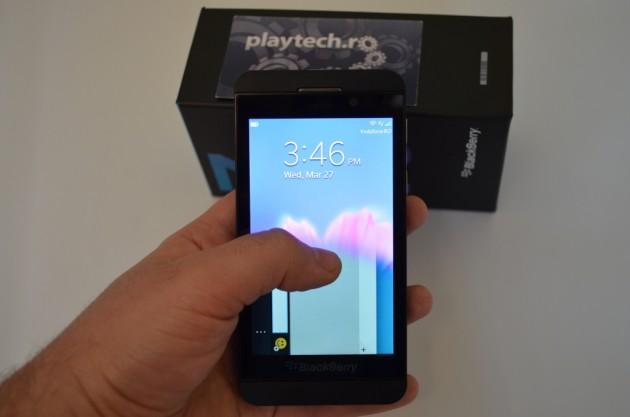BlackBerry Z10 Swipe