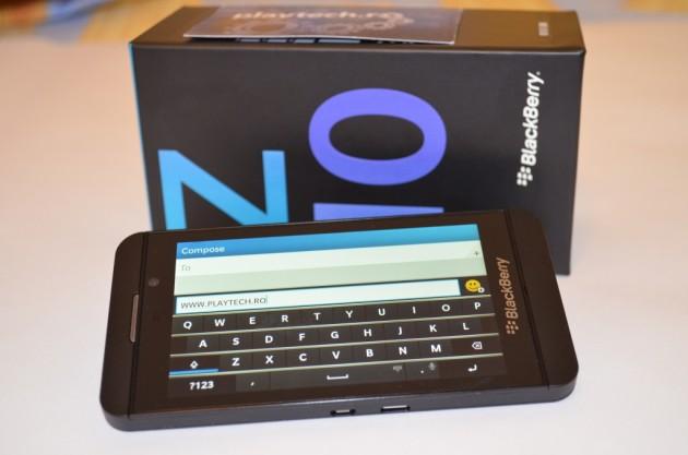 BlackBerry Z10 Tastatura