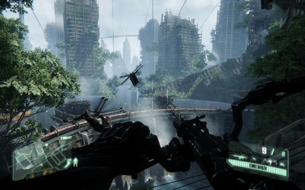 Crysis 3 Helicopter Dam