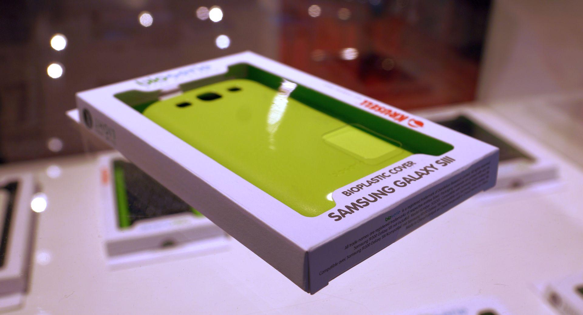Carcase pentru smartphone, 100% organice si biodegradabile
