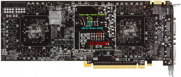 Nvidia GeForce-GTX-690-Into-Quadro-K5000