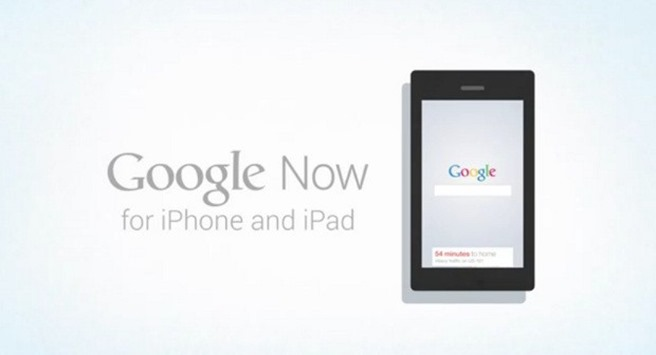 Google Now iOS iPhone iPad