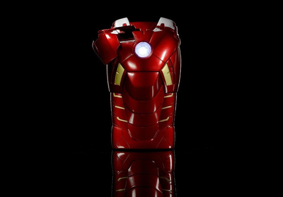 Iron Man Mark VII Carcasa iPhone 5 Acces camera