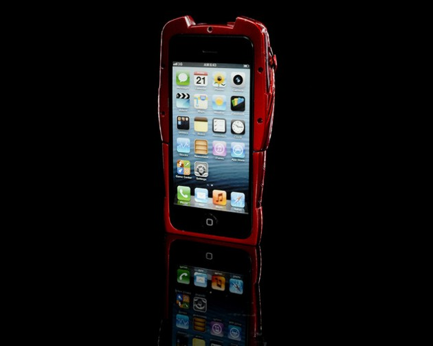 Iron Man Mark VII Carcasa iPhone 5 Fata