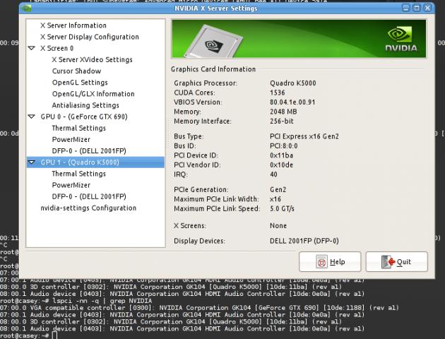 Linux-Quadro-K5000