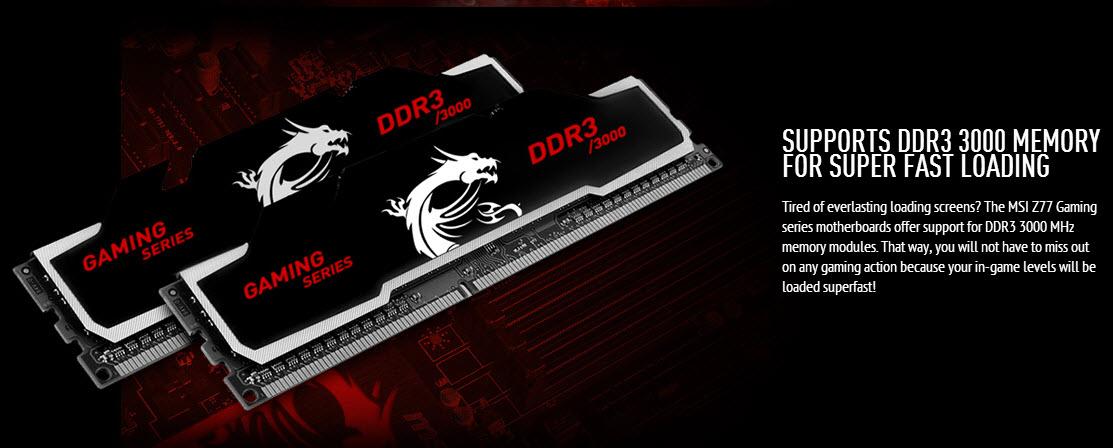 MSI intra pe piata de memorii RAM cu module tactate la 3000 MHz