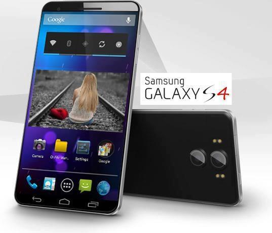 Samsung Galaxy S 4 Concept