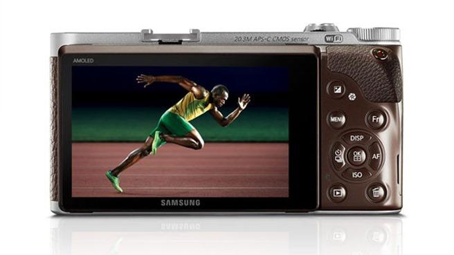 Samsung NX300 USain bolt