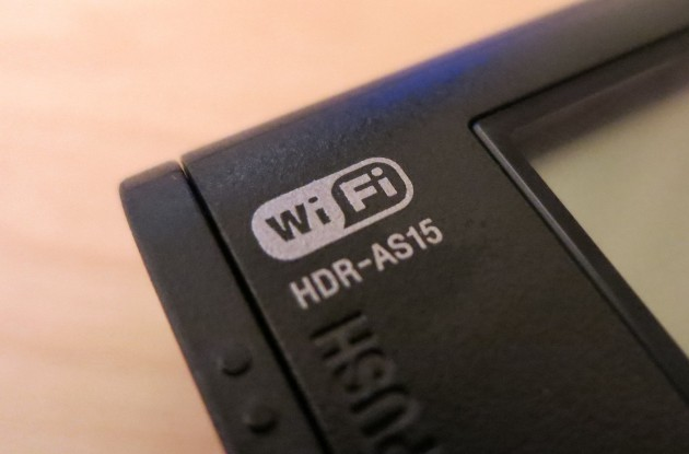 Sony Action Cam HDR-AS15 - LCD 3