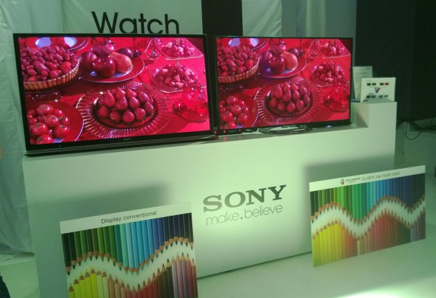 Sony Triluminos Display