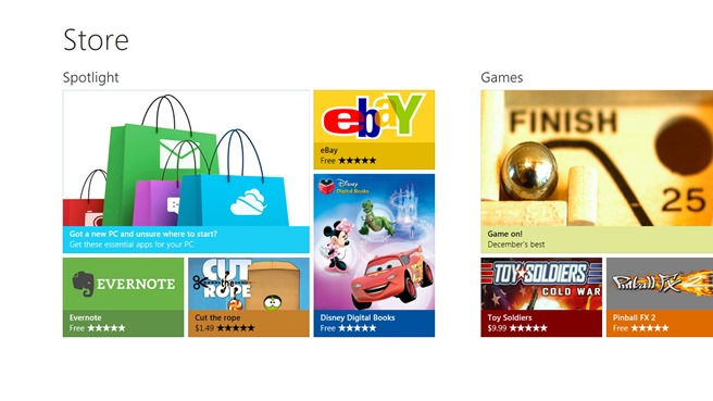 Windows Store Performanta