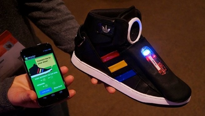 google shoes SXSW papuci inteligenti