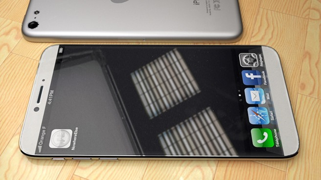 iPhone 6 concept silver