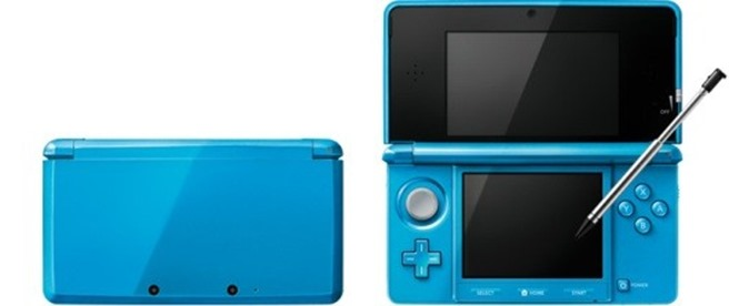 nintendo 3d light blue software update