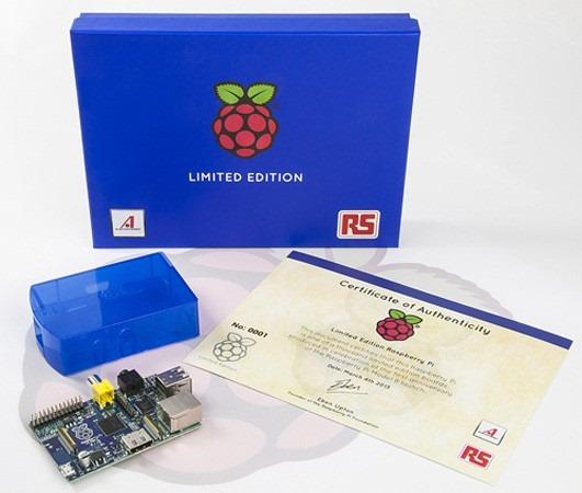 Raspberry Pi aniverseaza un an cu o editie limitata