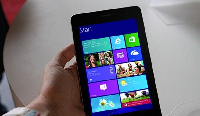 window 8 7 inch tablete