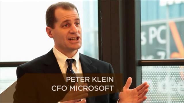 CFO-ul Microsoft, Peter Klein, demisioneaza pentru ca si-a atins scopul